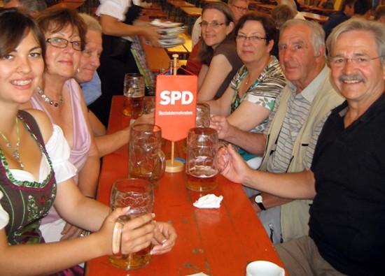 SPD auf der Gautsch