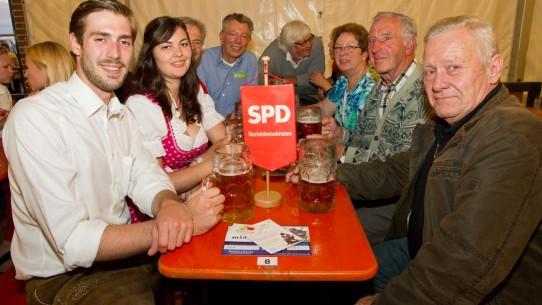 Statt auf der Gautsch dieses Mal im Hotel Zeller: Der SPD-Bürgerstammtisch