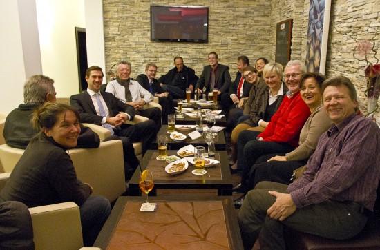 Gut besucht war der letzte Stammtisch der SPD im Hotel Zeller.