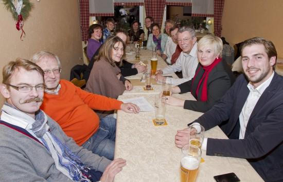 2014.01.15 - SPD-Stammtisch im Trachtenheim