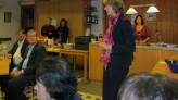 Ulrike Bahr beim Neujahrsempfang der Königsbrunner SPD
